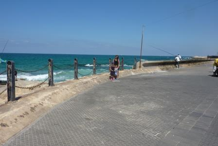 Küste und Menschen